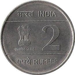 Indien 2 Rupees 2010 XIX Commonwealth Games