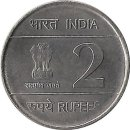 "Indien 2 Rupees 2010 ""XIX Commonwealth Games"""